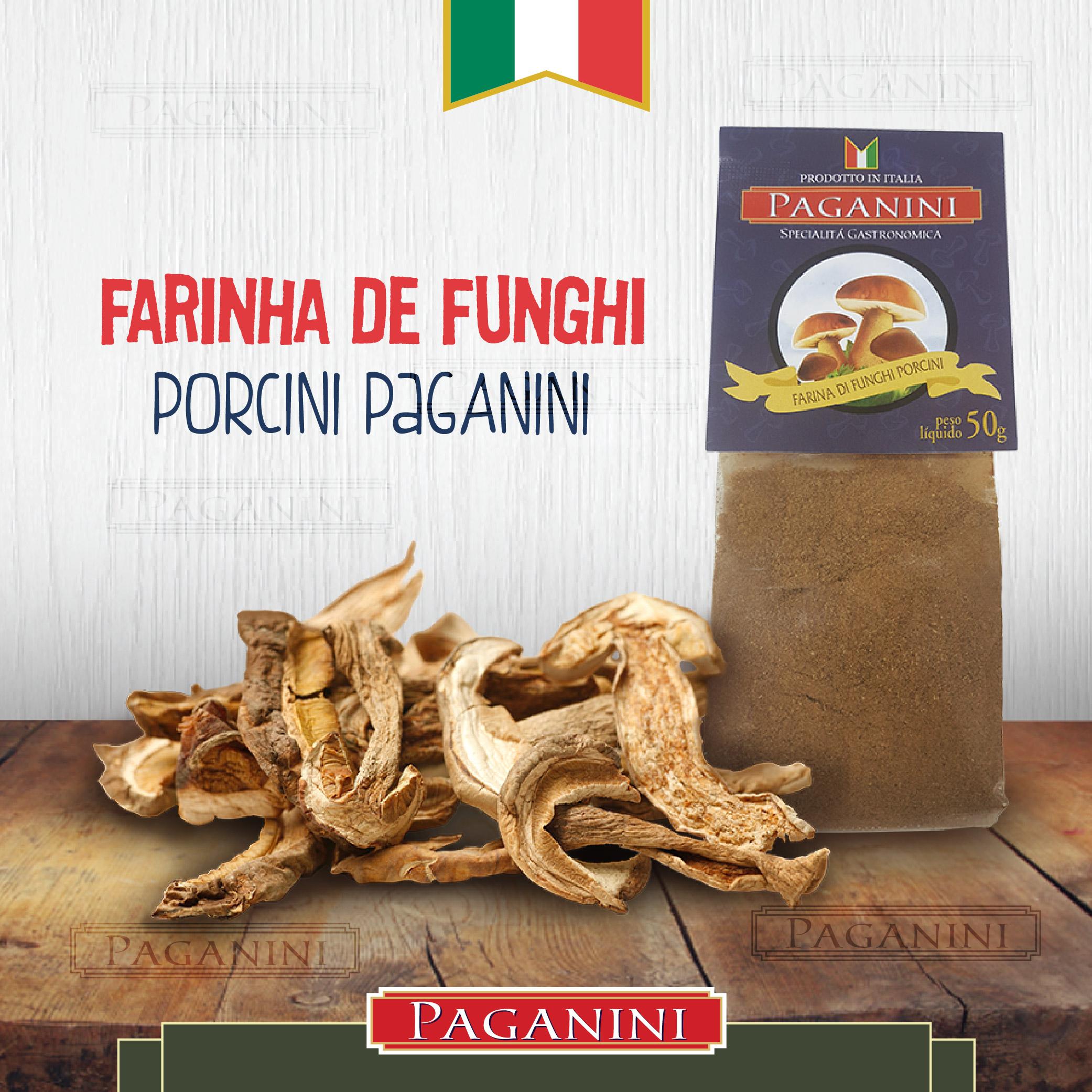 farinha de funghi porcini