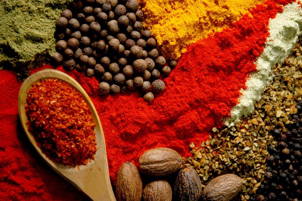 Especiarias da culinária