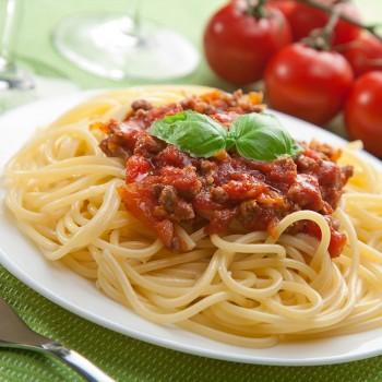 Spaghetti Sem Glúten à Bolonhesa