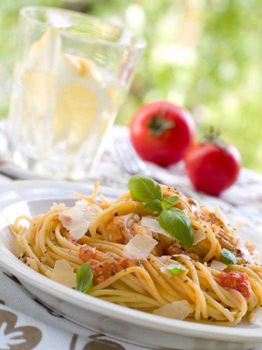 Spaghetti ao Pesto Trapanese